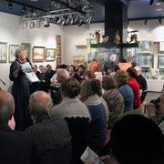Поэтический вечер и презентация нового издания красногорских поэтов. 9 января 2015г.