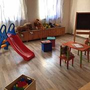 Unser Spielzimmer für die Kleinen.