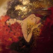 Paradise Lost 80*100 cm Acryl auf Holz