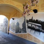 Motive für Wandmalerei in der Stadtplanung und Stadtentwicklung Brandneburg