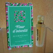 Fleur d'Interdit - Eau de parfum - 5 ml - Ecriture noire sur flacon