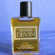 Aramis Devin - After Shave - 10 ml - écriture grasse
