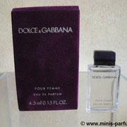 Dolce & Gabbana pour femme - Eau de parfum - 4.5 ml 0.15 US FL.OZ
