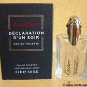Déclaration d'un soir - Eau de toilette 12.5 ml - 09/2012