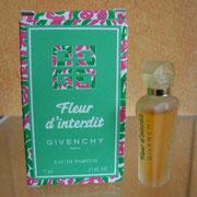 Fleur d'Interdit - Eau de parfum - 5 ml - Ecriture verte sur flacon