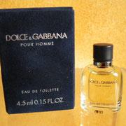 Dolce & Gabbana pour homme - Eau de toilette - 4.5 ml 0.15 US FL.OZ