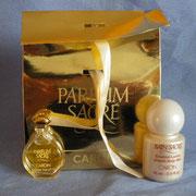 Parfum Sacré - Eau de toilette - 3 ml - Ecriture blanche