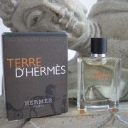 2006 - Terre Hermès - Eau de toilette - 5 ml - -  Parfum: Jean Claude Ellena - Flacon: Philippe Mouquet