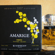 Récolte 2007 Harvest - Amarige Mimosa - 60 ml