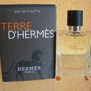 Terre Hermès - Eau de toilette - 12.5 ml - Inscription boite différente - -  Parfum: Jean Claude Ellena - Flacon: Philippe Mouquet