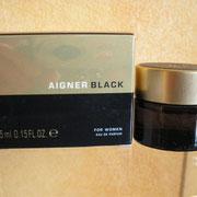 Aignier Black pour femme - Eau de parfum - 5 ml