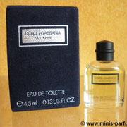 Dolce & Gabbana pour homme - Eau de toilette - 4.5 ml 0.13 US FL.OZ