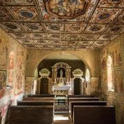 Die Fresken zählen zu herausragenden malerischen Leistungen des Mittelalters