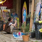 Künstler in Groznjan