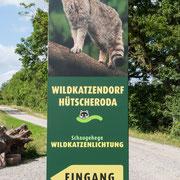 Eingang zur Wildkatzenlichtung