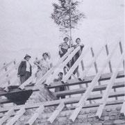 v.l. Schilling Karl, Wagner Richard, Kästel Georg, Mayer Andreas und Schilling Josef