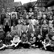 Geburtsjahrgang 1950 bis 1951, Klasse 4, Klassenbild von 1958
