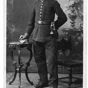 Weber Wilhelm als Soldat