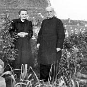 Pfarrer Franz und Cousine E. Hoffmann geb. Schilling