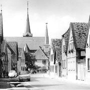 Unterdorfgasse, 60er Jahre