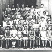 Geburtsjahrgang ca. 1935 bis 1937, Klassenbild von 1950, 7. bis 9. Klasse