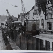Baustelle Kanalverlegung Hauptstraße