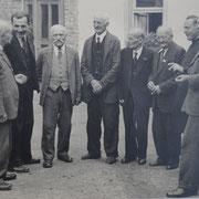 Altentreffen mit Bürgermeister Karl Ramsel und dem Beigeordneten Rudolf Eberley