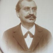 Franz Braun, Vorfahre zu Familie Kästel, Postagent
