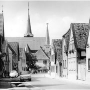 Gäustraße von Osten, ca 1950