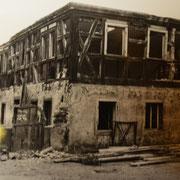 Ehlötz'sches Haus (Ziebelsburg) kurz vor Abriss in den 70er Jahren