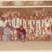 Andenken an A-Jugendturnier in Waldsee 1969; SVG erster Sieger vor LSC