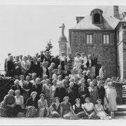 Wallfahrt Geinsheimer Frauen mit Franz Klohe zum Kloster Odilienberg im Elsass