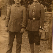 v.l. Eugen Mane und Arthur Stadler
