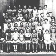 Geburtsjahrgang ca. von 1936 bis 1938, 7. bis 9. Klasse, Klassenbild von 1950