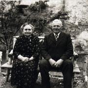 Karl Mohr mit Frau Elise geb. Kästel