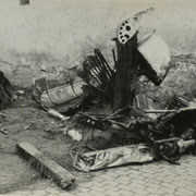 Flugzeugabsturz in Duttweiler Straße Okt. 1944