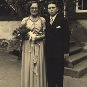 Tanzpaar Herbert Mattern und Vilma Kästel