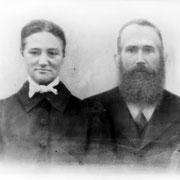 Jakob Schaaf mit Ehefrau Anna geb. Eichberger
