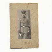 Anton Nebel, Bruder von Barbara Adam geb. Nebel, fiel am 2. Tag des I. Weltkriegs