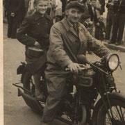 Georg Schneider mit Tochter Rita