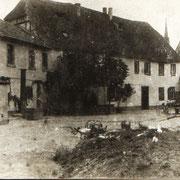 Gasthaus Hirsch, altes Haus Gäustraße 106