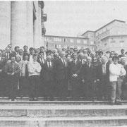 Teilnehmer der Romfahrt 1991