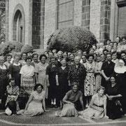 Ausflug katholischer Frauen aus Geinsheim zum Kloster Odilienberg im Elsass