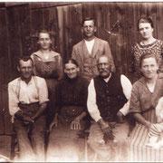 Heinrich Kästel , Sohn Josef mit Familie