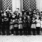Geburtsjahrgang ca. 1958, 1 oder 2. Klasse, Klassenbild von 1964