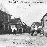 Französische Besatzung in Geinsheim, 1924