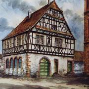 Rathaus von 1594, Gemälde