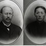Michael Weber mit Frau Katharina, geb. Schirmer