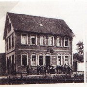 Bahnhofhotel, um 1910, heute Familie Willem