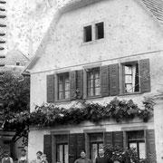 Haus des Gemeindeschreibers Ludwig Kästel, später Röther, heute Gäustraße 89